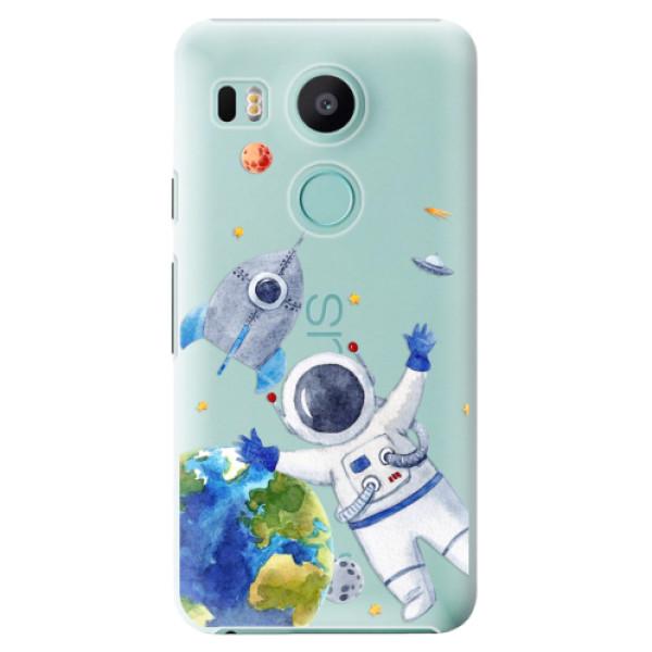Plastové puzdro iSaprio - Space 05 - LG Nexus 5X
