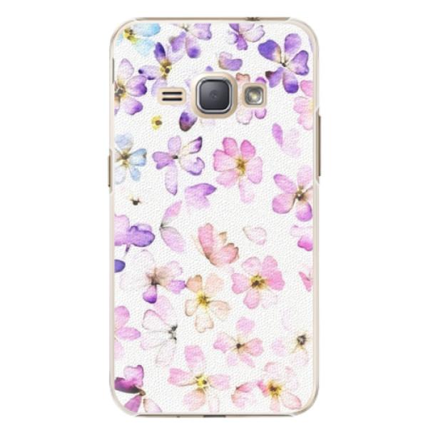 Plastové puzdro iSaprio - Wildflowers - Samsung Galaxy J1 2016