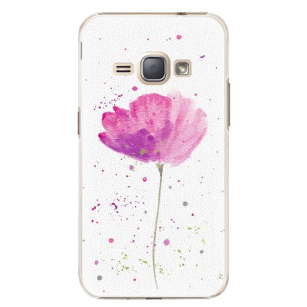 Plastové puzdro iSaprio - Poppies - Samsung Galaxy J1 2016