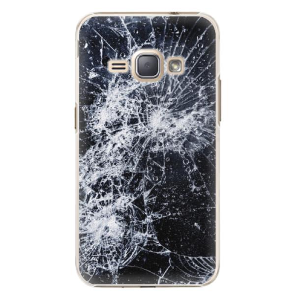 Plastové puzdro iSaprio - Cracked - Samsung Galaxy J1 2016