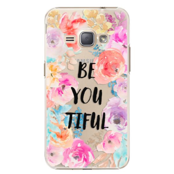 Plastové puzdro iSaprio - BeYouTiful - Samsung Galaxy J1 2016