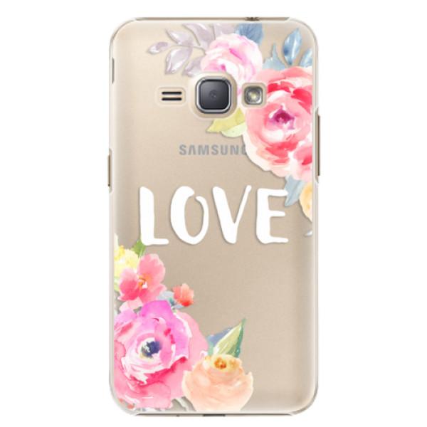 Plastové puzdro iSaprio - Love - Samsung Galaxy J1 2016
