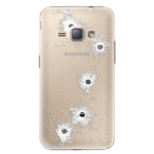 Plastové puzdro iSaprio - Gunshots - Samsung Galaxy J1 2016