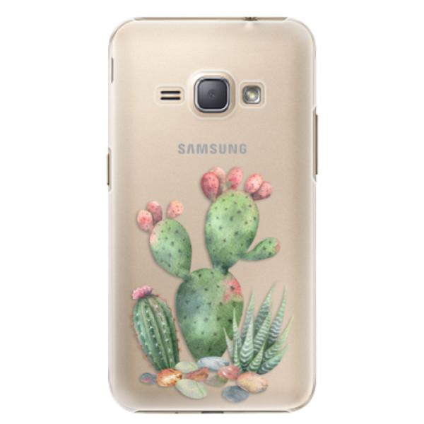 Plastové puzdro iSaprio - Cacti 01 - Samsung Galaxy J1 2016