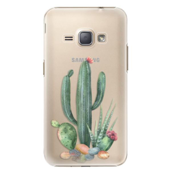 Plastové puzdro iSaprio - Cacti 02 - Samsung Galaxy J1 2016