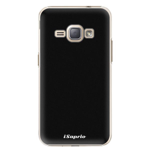 Plastové puzdro iSaprio - 4Pure - černý - Samsung Galaxy J1 2016