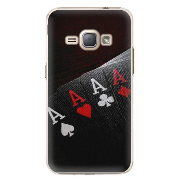 Plastové puzdro iSaprio - Poker - Samsung Galaxy J1 2016