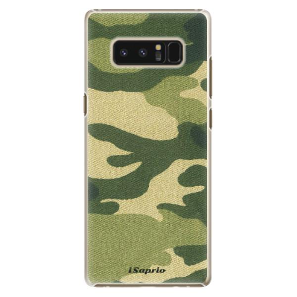 Plastové puzdro iSaprio - Green Camuflage 01 - Samsung Galaxy Note 8