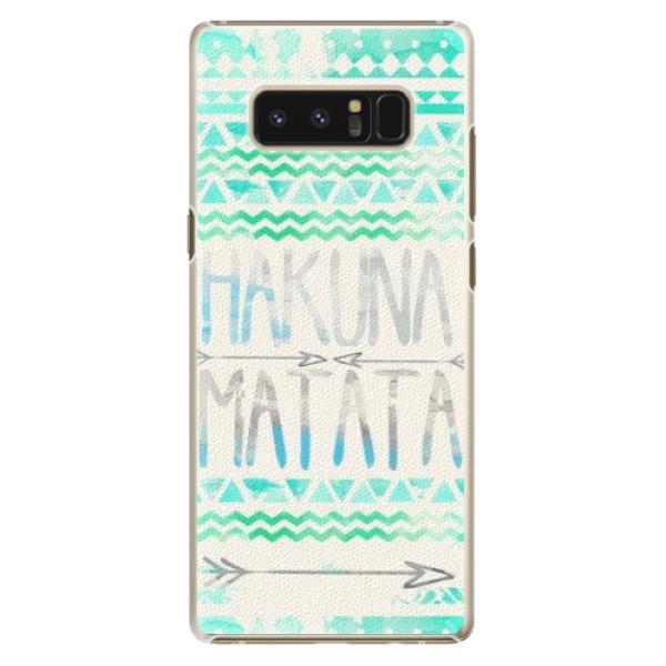Plastové puzdro iSaprio - Hakuna Matata Green - Samsung Galaxy Note 8