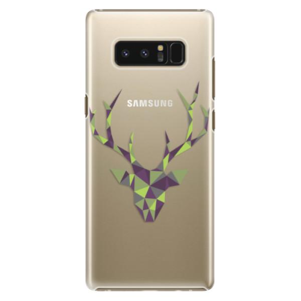 Plastové puzdro iSaprio - Deer Green - Samsung Galaxy Note 8