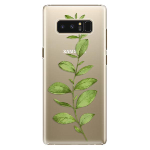Plastové puzdro iSaprio - Green Plant 01 - Samsung Galaxy Note 8