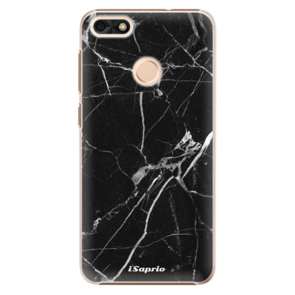 Plastové puzdro iSaprio - Black Marble 18 - Huawei P9 Lite Mini