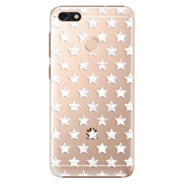 Plastové puzdro iSaprio - Stars Pattern - white - Huawei P9 Lite Mini