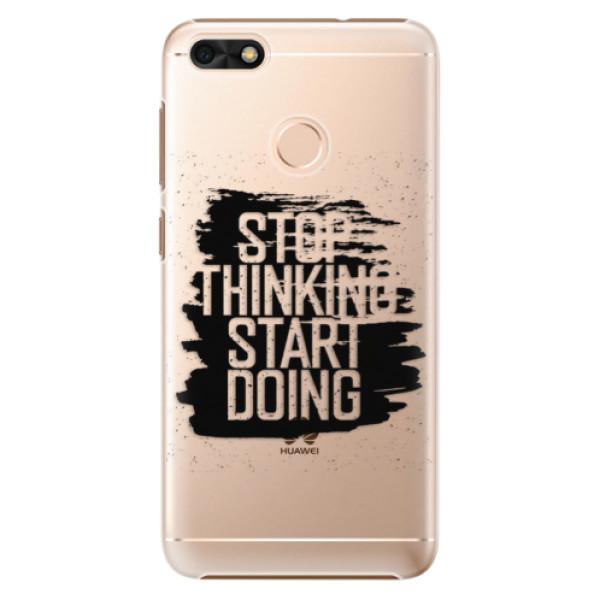 Plastové puzdro iSaprio - Start Doing - black - Huawei P9 Lite Mini