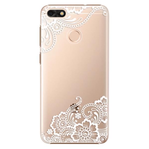 Plastové puzdro iSaprio - White Lace 02 - Huawei P9 Lite Mini