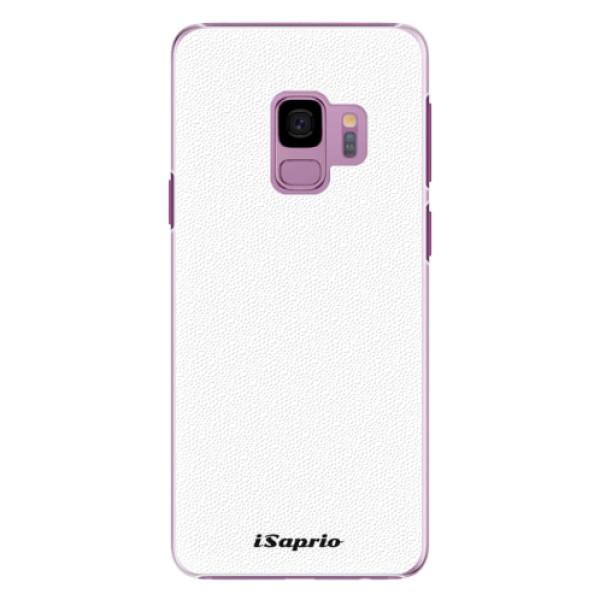 Plastové puzdro iSaprio - 4Pure - bílý - Samsung Galaxy S9