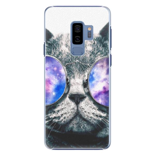 Plastové puzdro iSaprio - Galaxy Cat - Samsung Galaxy S9 Plus