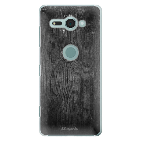 Plastové puzdro iSaprio - Black Wood 13 - Sony Xperia XZ2 Compact