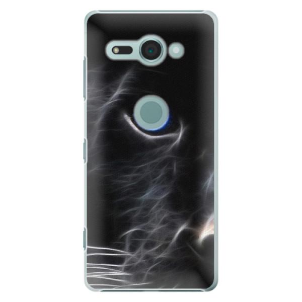 Plastové puzdro iSaprio - Black Puma - Sony Xperia XZ2 Compact