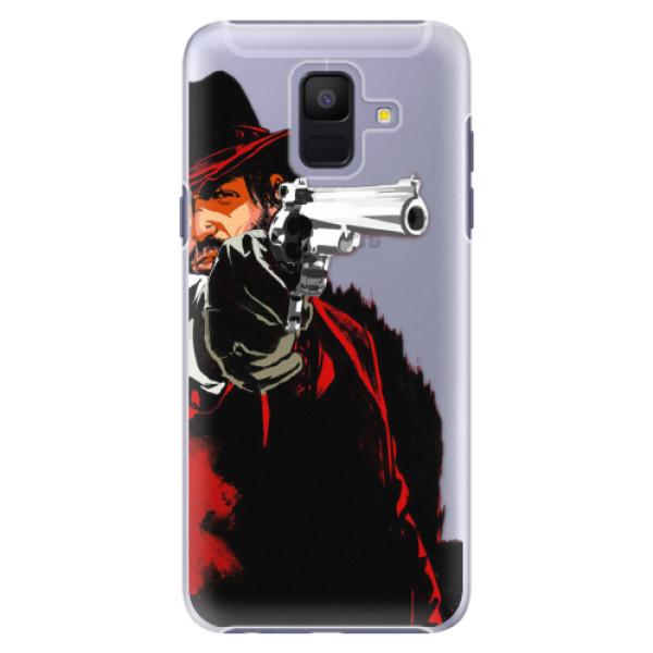 Plastové puzdro iSaprio - Red Sheriff - Samsung Galaxy A6