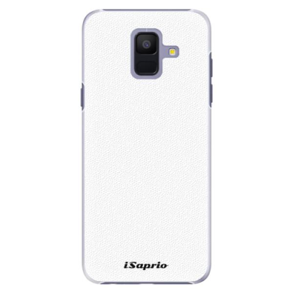 Plastové puzdro iSaprio - 4Pure - bílý - Samsung Galaxy A6