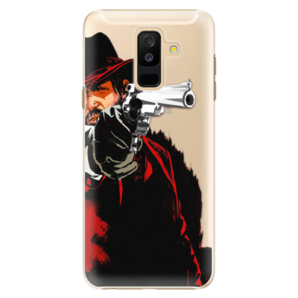Plastové puzdro iSaprio - Red Sheriff - Samsung Galaxy A6+