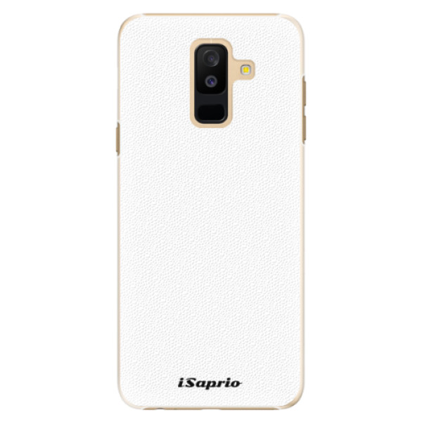 Plastové puzdro iSaprio - 4Pure - bílý - Samsung Galaxy A6+