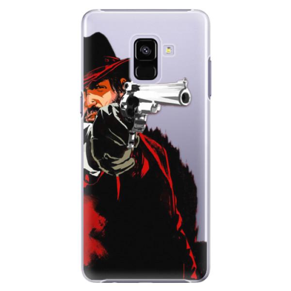 Plastové puzdro iSaprio - Red Sheriff - Samsung Galaxy A8+