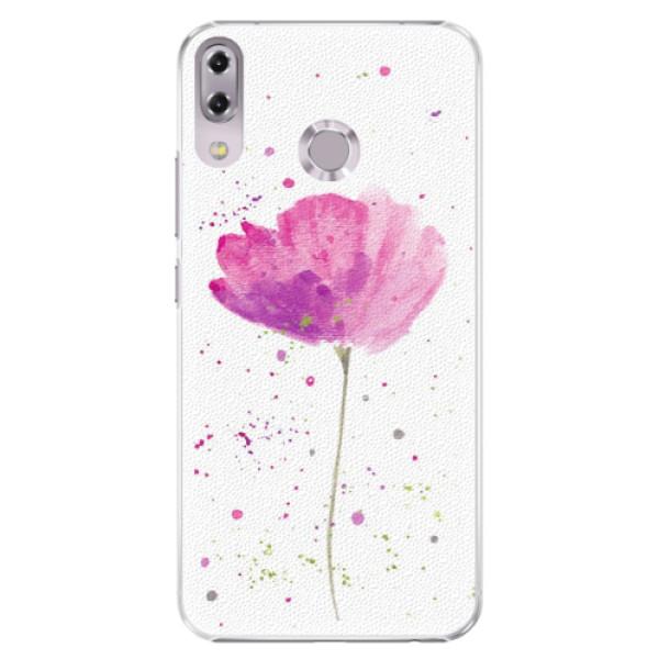 Plastové puzdro iSaprio - Poppies - Asus ZenFone 5 ZE620KL