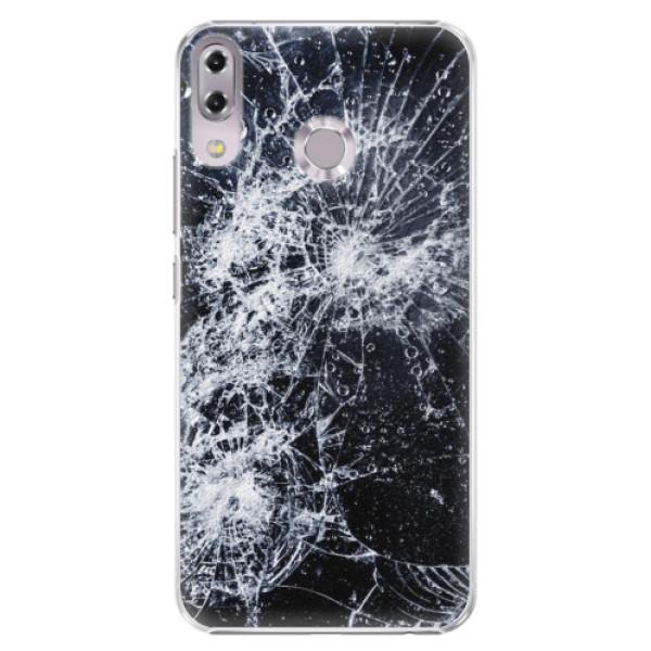 Plastové puzdro iSaprio - Cracked - Asus ZenFone 5 ZE620KL