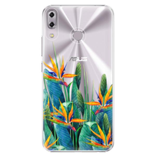 Plastové puzdro iSaprio - Exotic Flowers - Asus ZenFone 5 ZE620KL