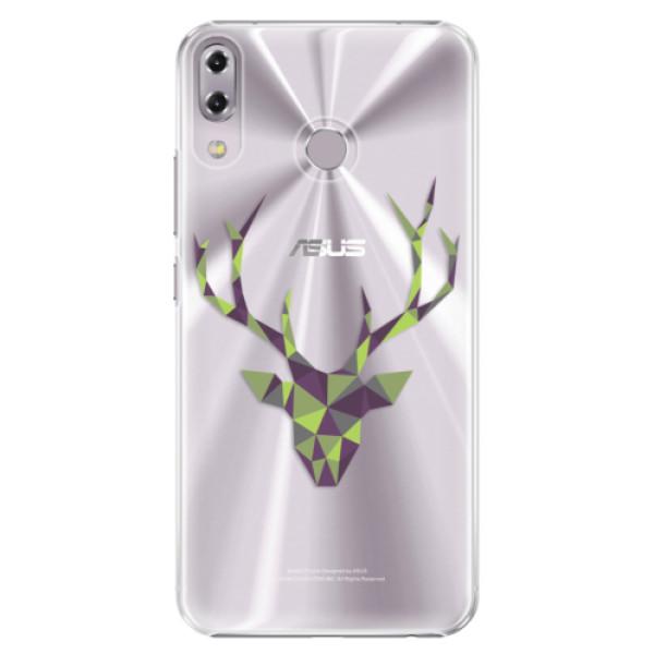 Plastové puzdro iSaprio - Deer Green - Asus ZenFone 5 ZE620KL
