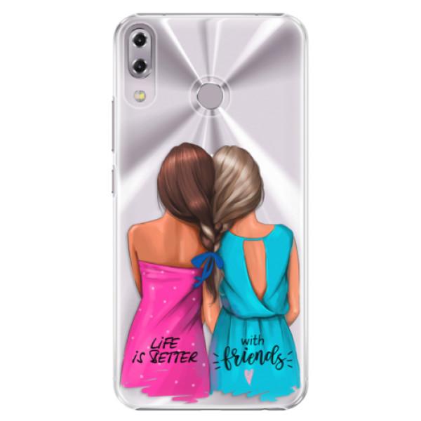 Plastové puzdro iSaprio - Best Friends - Asus ZenFone 5 ZE620KL