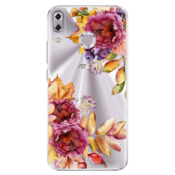 Plastové puzdro iSaprio - Fall Flowers - Asus ZenFone 5 ZE620KL