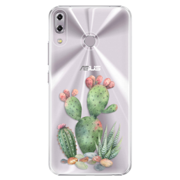 Plastové puzdro iSaprio - Cacti 01 - Asus ZenFone 5 ZE620KL