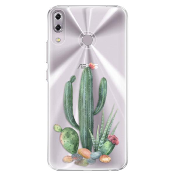 Plastové puzdro iSaprio - Cacti 02 - Asus ZenFone 5 ZE620KL
