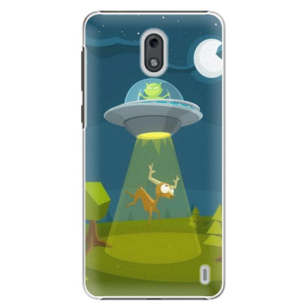 Plastové puzdro iSaprio - Alien 01 - Nokia 2