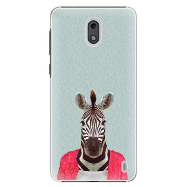 Plastové puzdro iSaprio - Zebra 01 - Nokia 2