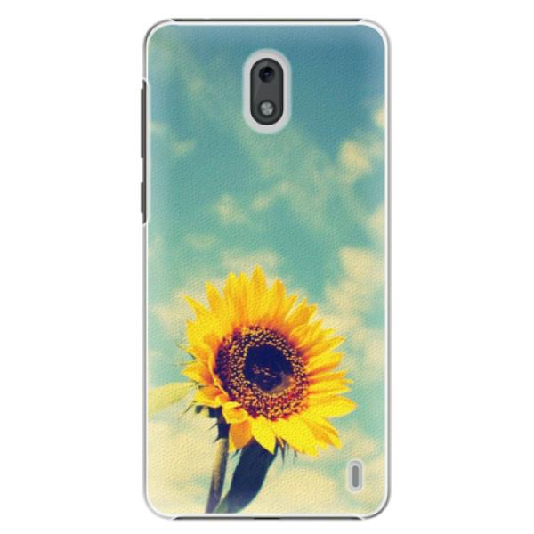 Plastové puzdro iSaprio - Sunflower 01 - Nokia 2