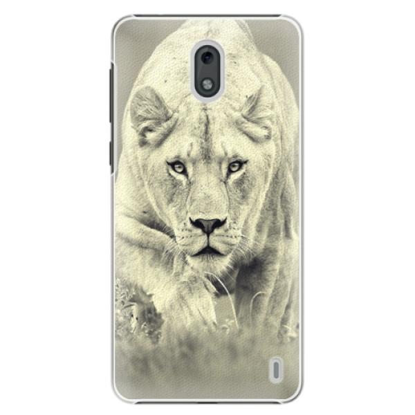 Plastové puzdro iSaprio - Lioness 01 - Nokia 2