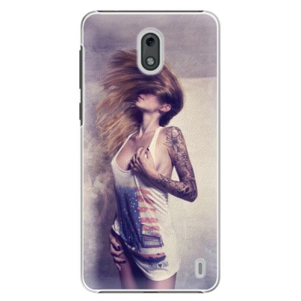 Plastové puzdro iSaprio - Girl 01 - Nokia 2