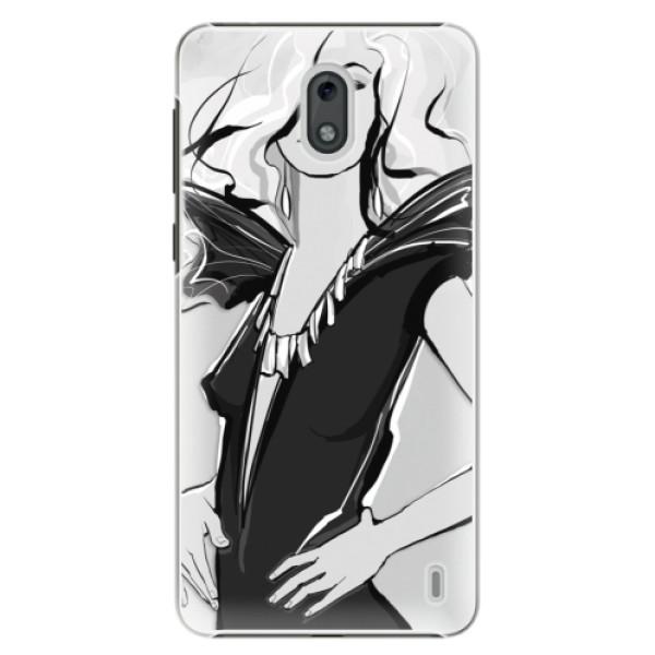 Plastové puzdro iSaprio - Fashion 01 - Nokia 2