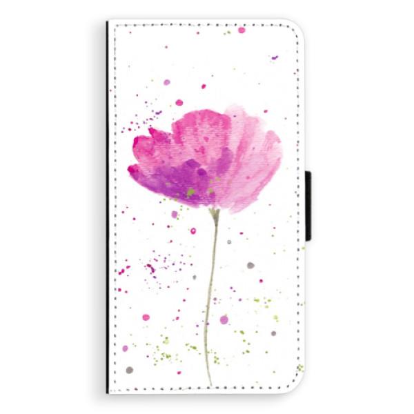 Flipové puzdro iSaprio - Poppies - Samsung Galaxy A5
