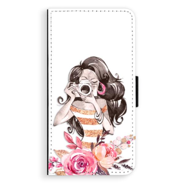 Flipové puzdro iSaprio - Charming - Samsung Galaxy A5
