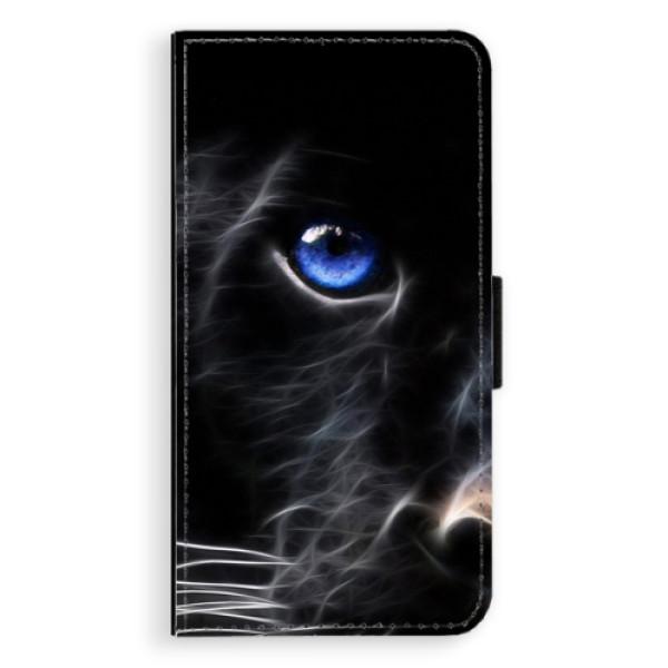 Flipové puzdro iSaprio - Black Puma - Samsung Galaxy A5