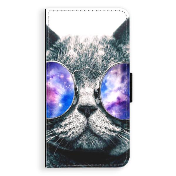 Flipové puzdro iSaprio - Galaxy Cat - Samsung Galaxy A5