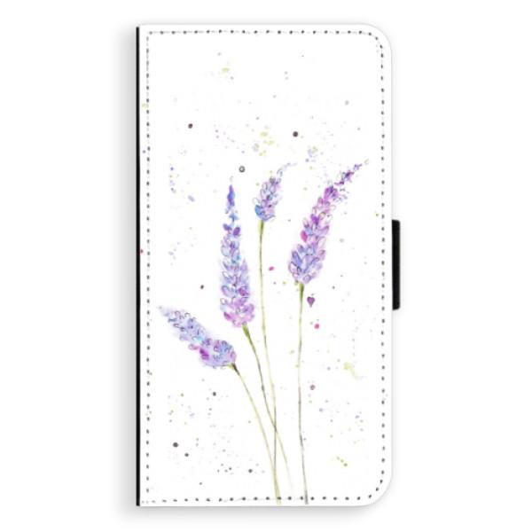 Flipové puzdro iSaprio - Lavender - Sony Xperia XZ