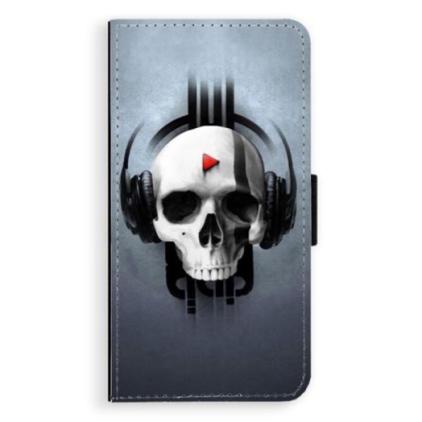 Flipové puzdro iSaprio - Skeleton M - Sony Xperia XZ