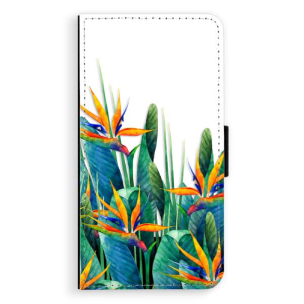 Flipové puzdro iSaprio - Exotic Flowers - Sony Xperia XZ
