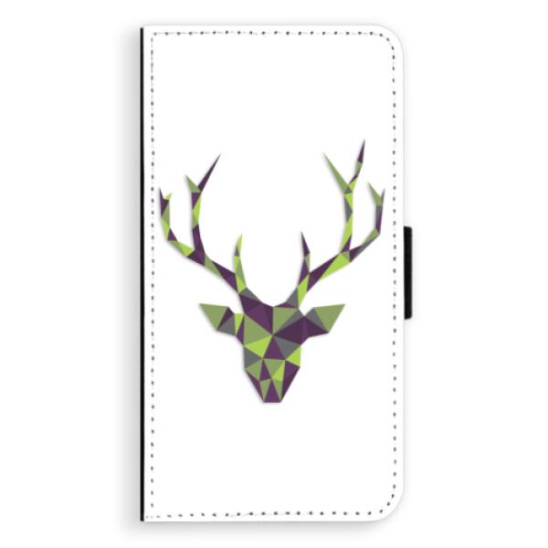 Flipové puzdro iSaprio - Deer Green - Sony Xperia XZ